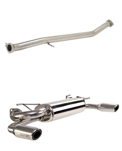 Power Pulse Dual Sport Exhaust System- COMBO