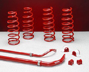 RX8 Suspension Kit--Front and Rear Sways and Full Spring Set