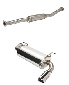 Racing Beat Power Pulse Exhaust System - COMBO