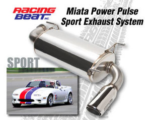 Racing Beat Power Pulse Sport Exhaust System- COMBO