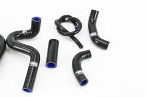 Samco Coolant Kit - Auxiliary Hoses....IN BLACK