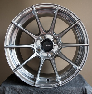 Advanti Racing Storm S1 5x114, 45mm - Hyper Silver