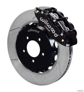 "Wilwood Forged Narrow Superlite 6R Big Brake Front Brake Kit, GT Slotted 12.88"" Rotor"