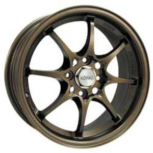 Konig Helium Bronze 15x6.5 40mm offset