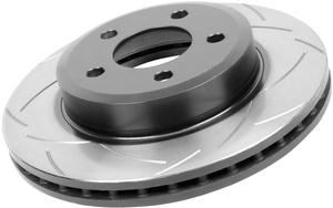 High Performance Slotted Rotors by DBA - Rear Pair