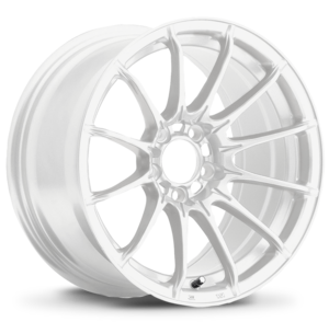 "Konig ""Dial In"" 15x8 Gloss White"