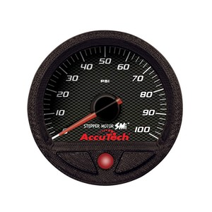 Longacre Accutech SMI Oil Pressure Gauge (0-100 psi.)