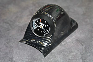 Carbon Fiber A-Pillar Instrument Gauge Pod for Mazda Miata