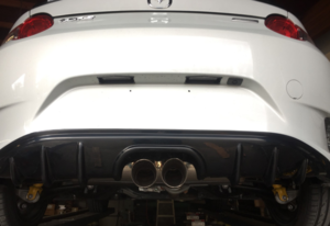 OpenFlash Center Exit Exhaust w/Diffuser