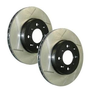 Power Slot Slotted Brake Rotors- REAR LEFT 570PSL