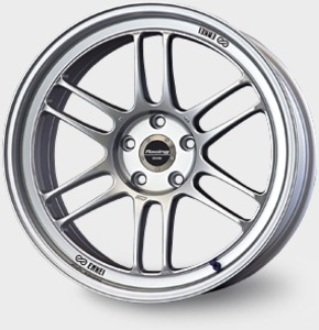 RPF1 43mm offset 16x7 Silver 4x100