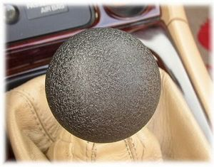 Voodoo Knob Magnum Black Textured Finish