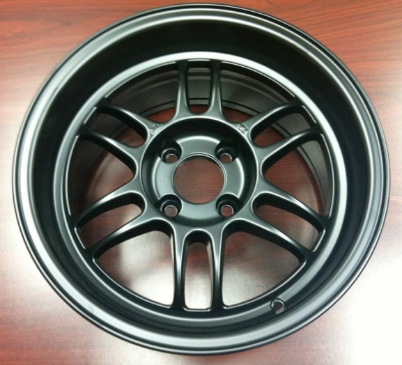 Konig Wideopen 20mm 4x100 13 6 Pounds Flat Black For