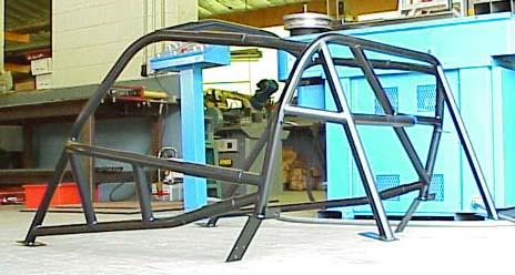 Hard Dog Spec Miata Cage With 2 Door Bars And 2
