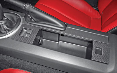 Redesigned NC Miata Center Console BLACK Lid