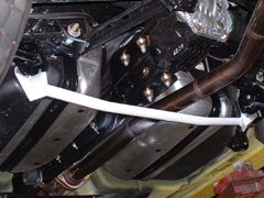 Carbing Lower Arm Bar - Mazda RX-8 (Rear)