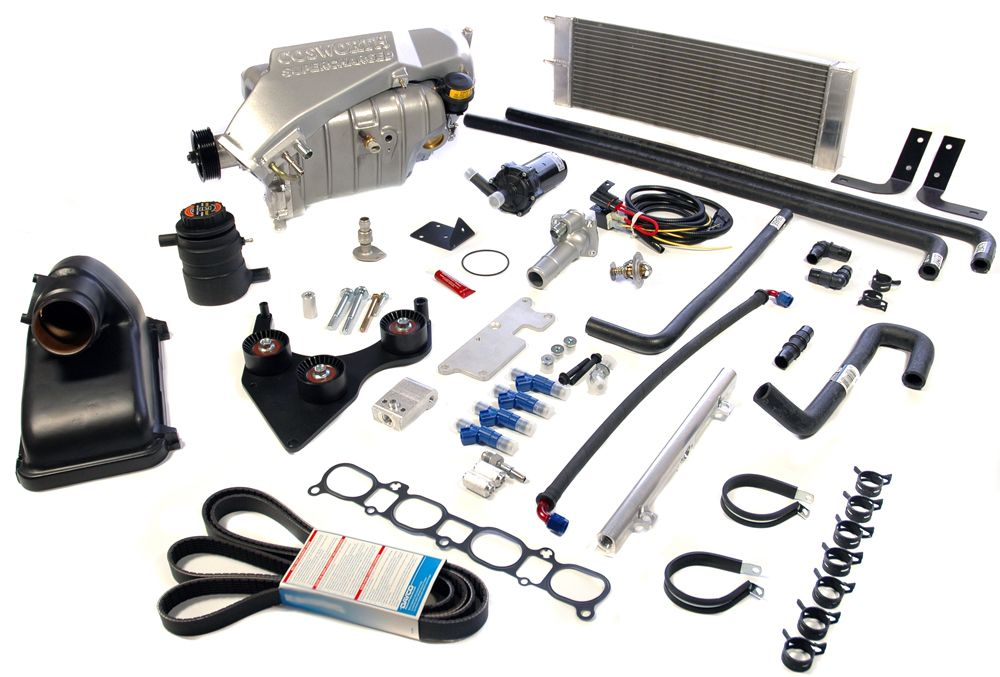 MX5 Miata Intercooled SUPERCHARGER Racer Kit NO ELECTRONICS